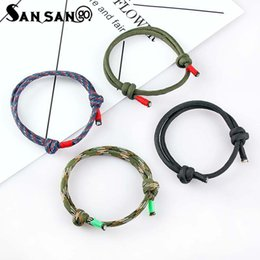 Sailing ropeS online shopping - 4pcs Mix Color Simple Charm Sailing Rope Chain Bracelet Minimalist Adjustable Rope String Bracelet For Women Men Jewelry Gift
