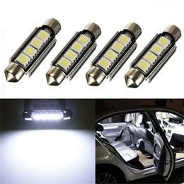 Festoon 42mm led bulbo 5050 smd canbus auto interior cúpula lâmpada estilo do carro lâmpada de luz 12 v venda por atacado