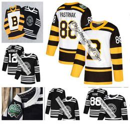 07d3dc24f 2019 Winter Classic Boston Bruins Rask Bergeron Chara Marchand Chicago  Blackhawks Jonathan Toews Patrick Kane Keith Crawford Hockey Jerseys