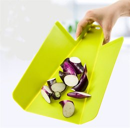 Fruit blocks online shopping - Chopping Block Foldable Practical Board To Cut Fruits Vegetables Convenient Carry Non Slip Plastic Cutting Boards Hot Selling rh Y Z