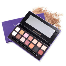 $enCountryForm.capitalKeyWord NZ - 14 Colors Matte Shimmer Eyeshadow Palette Pigmented Lasting Eye Shadow Makeup Palette With Eyes Make Up Brush Dropshipping
