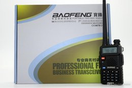 Dual Band Uhf Vhf Portable Australia - BaoFeng UV-5RHX Walkie Talkie CB Radio 128CH 8W VHF UHF Dual band Portable radio UV-5R Series 8W Professional Transceiver