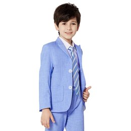 Chinese  The two-piece suit for boys is suitable for formal occasions such as formal, classical, wedding, etc. A variety of colors can be chosen. manufacturers