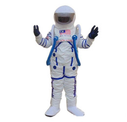 space suits 2019 - 2019 High quality Space suit mascot costume Astronaut mascot costume Free Shipping cheap space suits