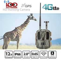 Gps Hd Australia - 4G FDD-LTE GPS Hunting Trail Camera Sending Original 5MP Pictures & 30s 1080P HD Video Via SMTP and FTP with APP Waterproof IP66