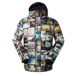 $enCountryForm.capitalKeyWord NZ - Gsou Snow Men's Outdoor Skiing Suit Men's Double Board Ski Jacket Warm Breathable Waterproof Windproof Cotton Clothes For Men