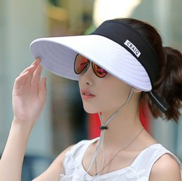 $enCountryForm.capitalKeyWord NZ - New outdoor summer sun hat travel sunscreen ceiling hat sunshade lady folding bike cycling baseball cap