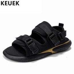 mint sandals 2019 - New Promotion 2018 Summer Fashion Men's Outer Wear Sandals Beach shoes Trend Sandals Leisure Outdoor Slippers 061 c