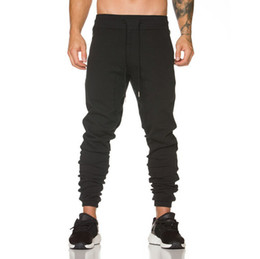 Wholesale mens dancing trousers resale online – New Mens Joggers Fashion Harem Pants Trousers Hip Hop Slim Fit Sweatpants Men For Jogging Dance Sport Pants