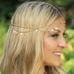 $enCountryForm.capitalKeyWord NZ - Golden Street Snap Multilayer Wafer DIY Euramerican Fashion Wave Tassels Chain Super Shiny Piece Hair Accessories & Tools Free-shipping