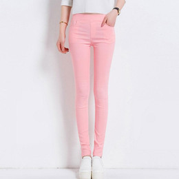 $enCountryForm.capitalKeyWord Canada - 6 Colors Women Pants Plus size S-3XL Candy Colored Skinny Leggings Stretch Pencil Pants Famale Summer Trousers Pantalon Femme