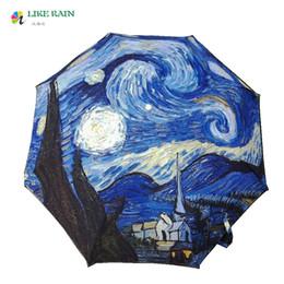 Raining paintings online shopping - LIKE RAIN Painting Umbrella New Fashion Monet s quot Femme a l ombrelle quot Oil Painting Umbrella Rain Women Anti UV Paresol YHS09
