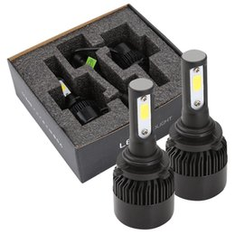 Light h online shopping - 2 X HB4 LED car headlight kit car fog light headlamp bulbs one pair H Q