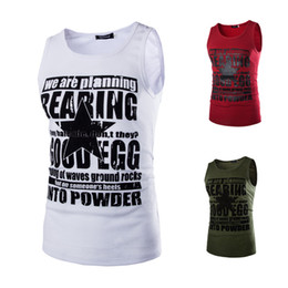 $enCountryForm.capitalKeyWord Australia - Spring and Summer New Men's Stamp Sweat Vest (animated) cartoon Combination men clothes 2018 bodybuilding fitness clothing