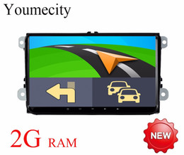 8.4 touch screen Canada - Android 8.1 Car DVD Player Radio Gps Stereo for VW Volkswagen SKODA GOLF 5 Golf 6 POLO PASSAT B5 B6 JETTA TIGUAN 2 din