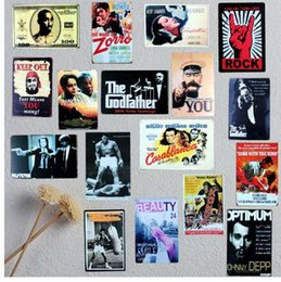 China Classic Movie Tin Sign Metal Plate Iron Painting Wall Bar Ktv Coffee Home Art Decor 30X20CM A-5039 suppliers