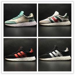 ce7fa3278997e 2018 Iniki Runner Boo Neighborhood X Outdoor Casual Running Shoes Grey-Core  Blue Triple Black Green Red Sneakers Mens Womens Shoes size36-45