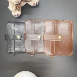 $enCountryForm.capitalKeyWord NZ - Fashion 2018 Leather Bank Card Case Thin Mini Card Wallet Men Business ID Credit Card Holder Cards Pack Cash Pocket Cheap NEW