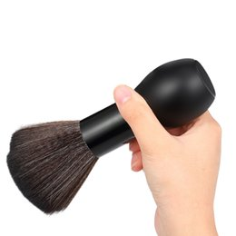 Style Hair Cuts Australia - Professional Soft Neck Face Duster Brushes Barber Hair Clean Hairbrush Salon Cutting Hair Sweep Brush Salon Hair Styling Tool free shipping
