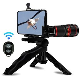 Wholesale Cell Phone Camera Lens X Zoom Telephoto Lens Stronger Phone Tripod Wireless Remote Shutter Phone Holder For iPhone Samsung