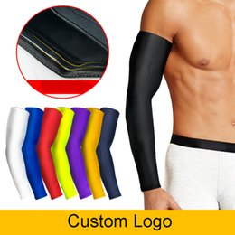 SleeveS extenSionS online shopping - Basketball Arm Extension Elbow Wrist Breathable Dry UV Protection Sports Gear Sunscreen Fishing Running Sleeves Arm Warmers Free DHL H386F