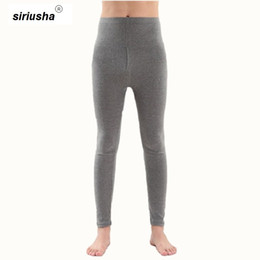 ingrosso indossando biancheria intima-Morbido sottoveste Oversize Bottoms Long Intimo XL XL Men s Lounge pigiama modale Pantaloni a kg Thermal Long Johns S57