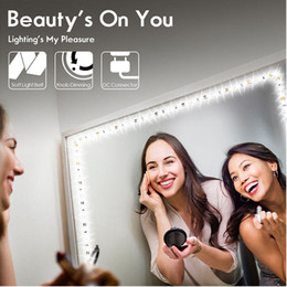 Led strip Light for decoration online shopping - LED Vanity Mirror Lights Kit LED Strip ft M LEDs Lighted Makeup Mirror For Vanity Table Set with Dimmer and Power Supply