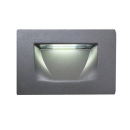 Strict 4w Waterproof Led Stair Step Light Outdoor Recessed Wall Corner Light Led Footlight Stairs Aisle Corner Lights Lights & Lighting Led Lamps