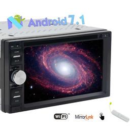 $enCountryForm.capitalKeyWord Australia - Android 7.1 Double Din Octa-core Car Stereo Autoradio 6.2'' Touch Screen 2G+32G GPS Navigation Audio Bluetooth car DVD Player USB SD