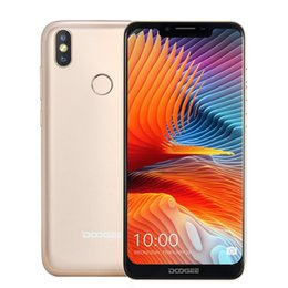 Doogee quaD core phone online shopping - DOOGEE BL5500 Lite GB GB G Android Cellphone U notch screen MTK6739W MP Fingerprint Mobile Phone MP MP Quad core