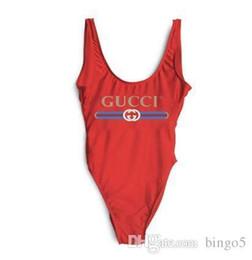 Swimwear deSignS for women online shopping - One piece Swimsuit For Women Fashion Design V shaped Neckline Beachwear High Crossbow Bikini Bandage Swimwear