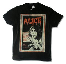 $enCountryForm.capitalKeyWord Canada - Alice Cooper Madhouse Poster Image Mens Black T Shirt School's Out for Summer Men'S High Quality Tops Hipster Tees T-Shirt