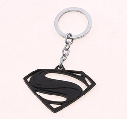 $enCountryForm.capitalKeyWord Canada - Mix 4 colour The Avengers Superman Keychain Superhero S Logo Key Chain High Quality Keyring for Women Men Fans Jewelry Free Shipping