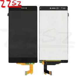 huawei ascend screen NZ - Original New Brand Best Quality For Huawei Ascend P8 LCD Display Touch Screen With Digitizer Assembly with 2 years warranty
