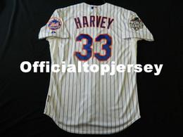 Matt Baseball NZ - Cheap Majestic NEW YORK #33 MATT HARVEY W S PATCH COOL BASE Jersey Mens Stitched Wholesale Big And Tall SIZE XS-6XL baseball jerseys