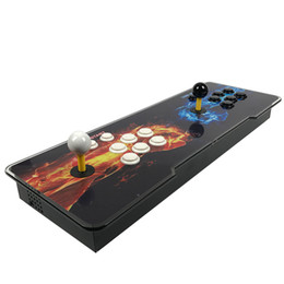 Chinese  Pandora 7S 2167 in 1 Arcade Game Console Led Acrylic cover 2 Players for children game machine HDMI VGA Output to TV toys manufacturers