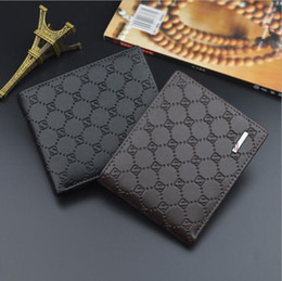 Money diaMonds online shopping - Wallet for Credit Cards Mens Wallet Leather Genuine High Quality Wallets with Card Holder Money Clip New Men s Purse luxury Simple