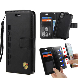 Magnetic card case online shopping - Premium Quality Leather Wallet Case Detachable Magnetic Removable Cover Fully With Card Slots For iPhone X