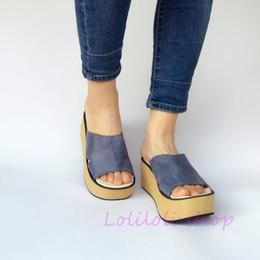 $enCountryForm.capitalKeyWord Canada - Princess sweet lolita shoes loliloli yoyo Japanese design custom large size dark blue genuine leather flatform slippers 7523