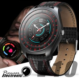 Bluetooth Smart Watch Sim Australia - V10 Smart Watch Men with Camera Bluetooth Smartwatch Pedometer Heart Rate Monitor Sim Card Wristwatch for apple iphone Android Phone