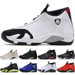 59aa4b05e42c 14 14s mens Basketball Shoes Desert Sand DMP Last Shot Indiglo Thunder Blue  Red Suede Oxidized Green men Sport Sneakers outdoor designer
