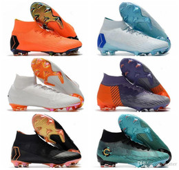 cd8646905 Discount mercurial indoor soccer shoes - 2018 New High Tops Soccer Cleats  Socks ACC Mercurial Superfly