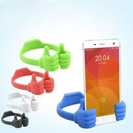 thumb universal holder for phone 2019 - Phone Holder Bed Thumb Cell Smartphone Tablet Accessory Mount Stand Support Desk Desktop Table Stents For iPhone Samsung