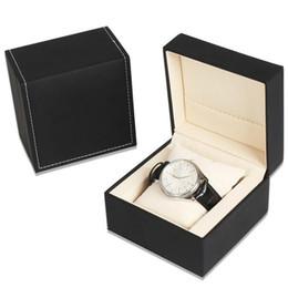 3cfc7dd32f3e Cajas de cuero de lujo de Waistwatch para negocios Caja de empaquetado de  lujo de calidad superior breve para los relojes Joyas