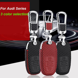 $enCountryForm.capitalKeyWord Australia - Smart Key Keyless Remote Entry Fob Case Cover with Key Chain For Audi A4 A6 Q5