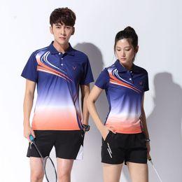polo sport red 2019 - Adsmoney badminton shirt short Jersey polo sport Uniforms kits women men tennis training jerseys 3 colors discount polo