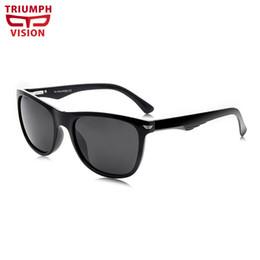 Black Blocks Australia - TRIUMPH VISION Black Driver Sunglasses Men Summer UV Block Polarized Shades Male 2018 New High Quality Gafas de sol Eyewear