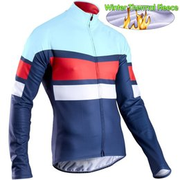 $enCountryForm.capitalKeyWord NZ - Winter Thermal Fleece Cycling Jersey for Men Long Sleeve Bike Wear Windproof Cycling Clothing Ropa Ciclismo Jacket