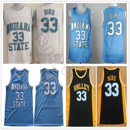07d14cb37d9e ... discount shop e24cc 72eab ncaa indiana state sycamores 33 larry bird  blue college basketball jerseys