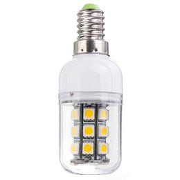 Prices Energy Saving Bulbs Australia - Wholesale Price E14 3W 350LM 27 LED 5050-SMD Energy Saving Pure Warm White Corn Light Lamp Bulb AC DC12V